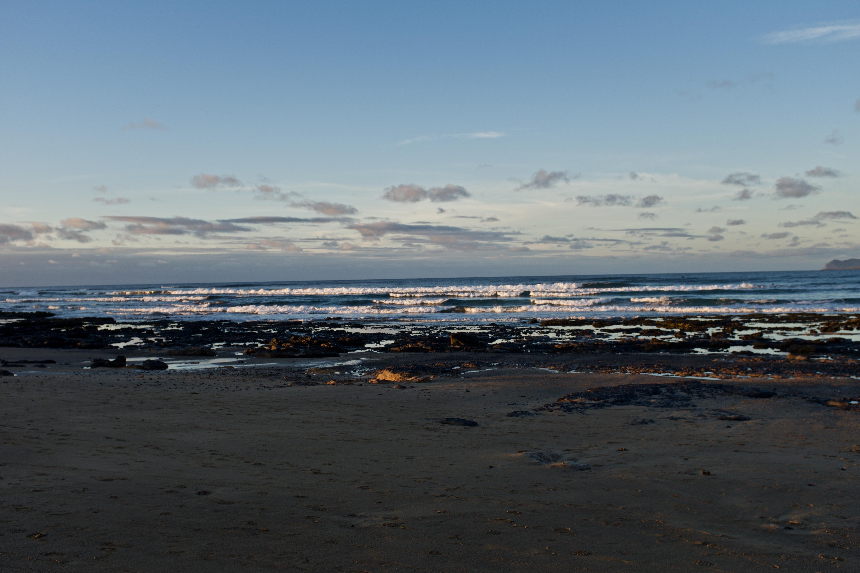 Caleta de Famara Lanzarote Playa Strand