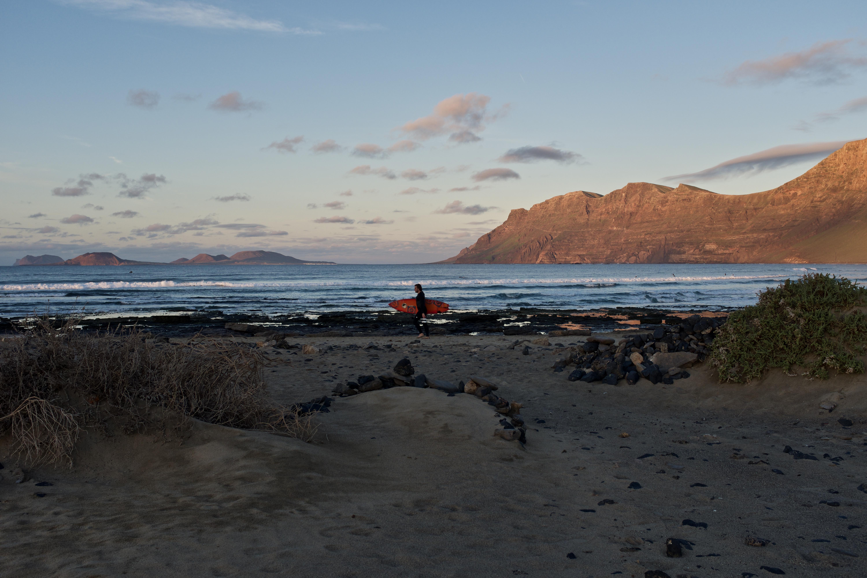 Lanzarote Famara Surfstrand