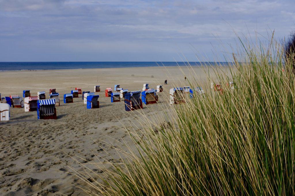 Juister Strand Nordsee Strandkorb