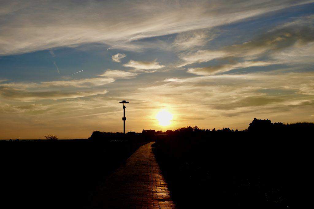 Nordsee Wellness Juist Sonnenuntergang