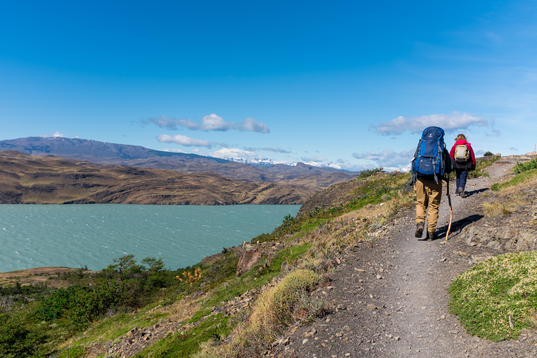 Wanderung W-Trek Torres del Paine Lago Nordenskjöld